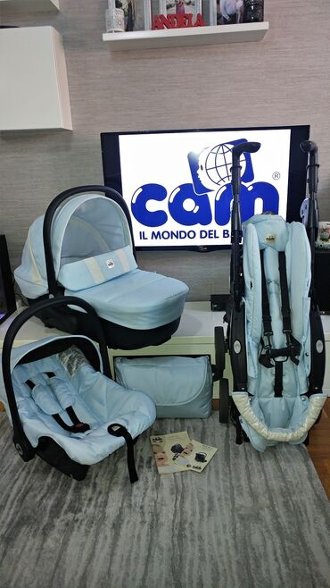 Majica goa - Srbija: CAM Combi Family 3u1Jedan od najtraženijih CAM-ovih sistema 3u1 Cam