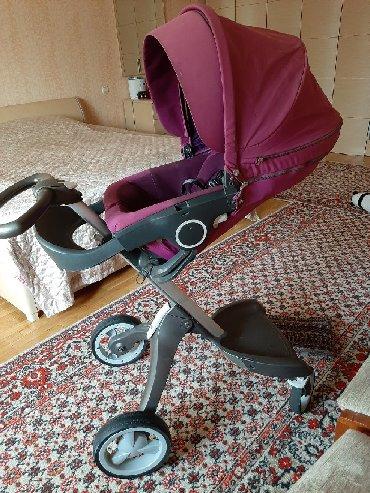 детские коляски люльки в Кыргызстан: Детская коляска 2 в одном STOKKE оригинал!! есть большая удобная