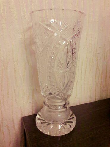 Продаю вазу хрустальную