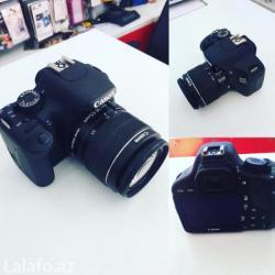 Bakı şəhərində Canon 550d normal veziyetde18-55 mm lensnen birlikde cantasida var bir