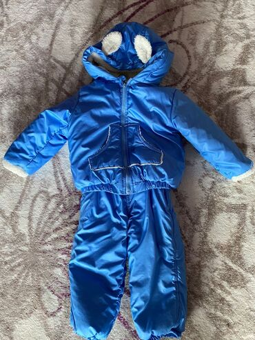 10282 elan | UŞAQ DÜNYASI: В хорошем состоянии зимний комбинезон(штаны, куртка) для мальчика. Раз