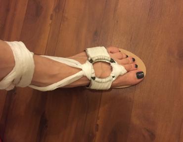 Leather sandals. Like new , worn once , size 39 σε Βόρεια & Ανατολικά Προάστια - εικόνες 2