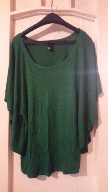 Majica zelena - Srbija: Zelena hm majca