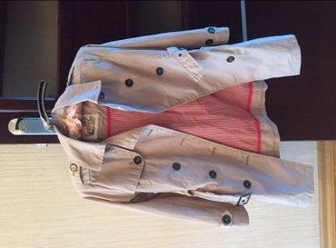 Bakı şəhərində Плащ на девочку, на 8 лет, Окайди,имеется капюшон и шейный платок