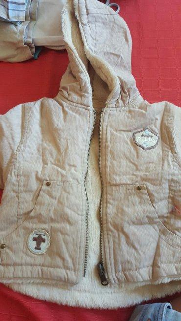 Junior pilot jakna vel 1-2 kao nova...2 lica drap boja - Pozarevac