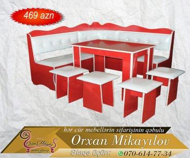 Oğuz şəhərində Metbex stol stulu( metbex uqlovoyu). Rasiyiski laminat ve türk