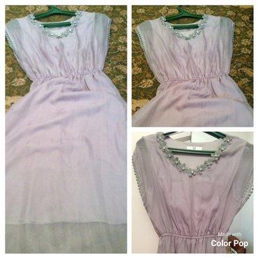 Продаю платье очень красивый цвет, нежный, приятная ткань, легкая, оде в Кок-Ой