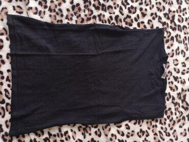 Majica velicina m - Srbija: Crna majica bez rukava, očuvana. Odgovara velicini XS-S