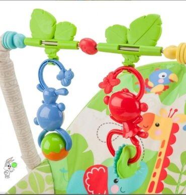 Njihalica - Srbija: Ležaljka za bebe 3 u 1 iz serije Rainforest udoban je i siguran odmor