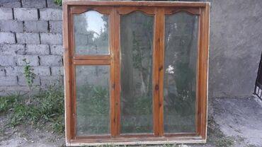Продаю деревянное окно Состояние хорошое Длина 150см Ширина 150см
