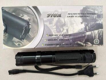 Lunar led - Beograd: Led Baterijska lampa 910A PoliceSamo 950 dinara.Porucite odmah Led
