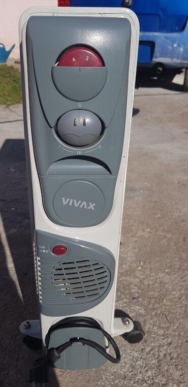 Uljani radijator sa ventilatorom,koriscen jednu sezonu,bez ostecenja