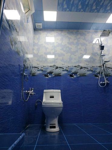 İş Limanda: Salam. Hamam-tualetə kafel metlaqlarin vurulması. 100kv artıq yerlərə
