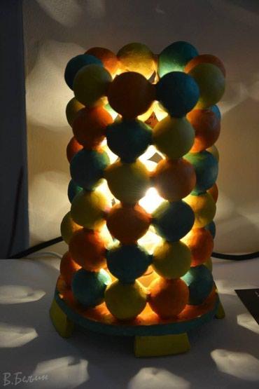 Rasveta | Mladenovac: Unikatna, dekorativna keramicka lampa. Rucni rad