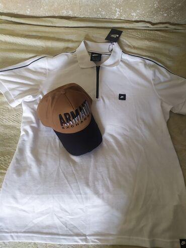 Продам новая футболка и кепка вместе 50 размер XL