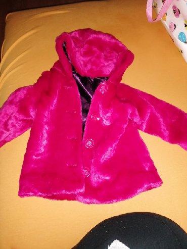 Dečije jakne i kaputi | Velika Plana: Kaputic za devojcice, predivan stvarno i kao nov, nošen par puta
