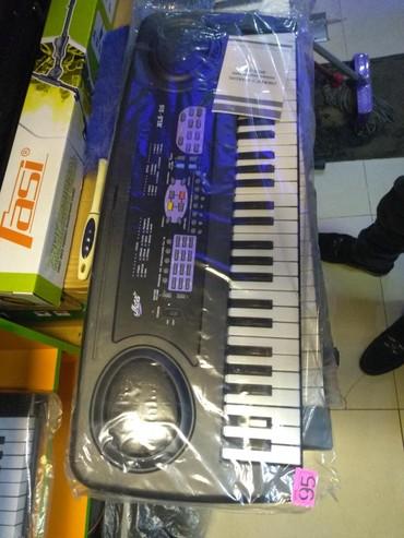 - Azərbaycan: Sintizator Miles 4 oktava yarım mikrafonlu kiçik ölçülü Piano sesli