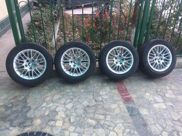 шины hankook бу в Кыргызстан: Диски заводские оригинал от BMW E39 привозные с Японии без пробега по