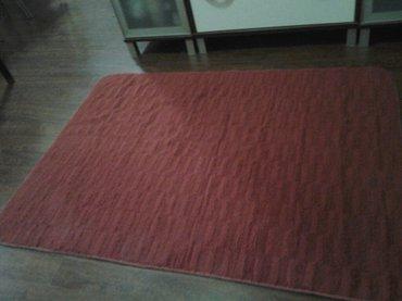 prelep crveni tepih vitapur dimenzije 145 sa110 cm mekan topao skoro n - Beograd