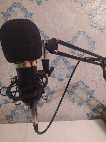 ses güçlendirici - Azərbaycan: Studio mikrafonu  Ses karti  filteri Tutacagi var
