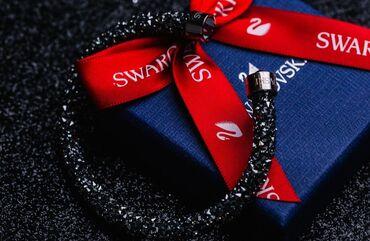 Swarovski браслет. Куплено за 160  Упаковка есть. Почти неношенная