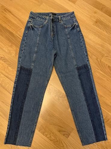 - Azərbaycan: Yeni Cins, hec geyinilmeyib, 38 razmer, Mom jeans modeldir