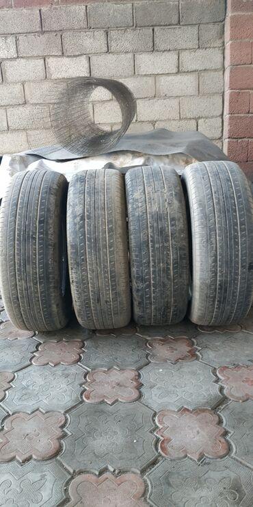 шредеры 16 на колесиках в Кыргызстан: Продаю летние шины yokohama 215/60/16 состояние хорошее на одном
