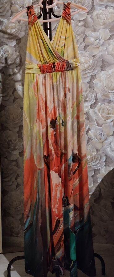 Платья - Красный - Бишкек: Платье Свободного кроя M