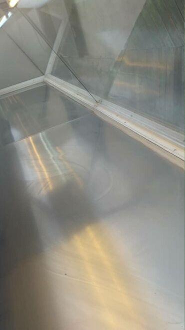 Б/у Холодильник-витрина Коричневый холодильник