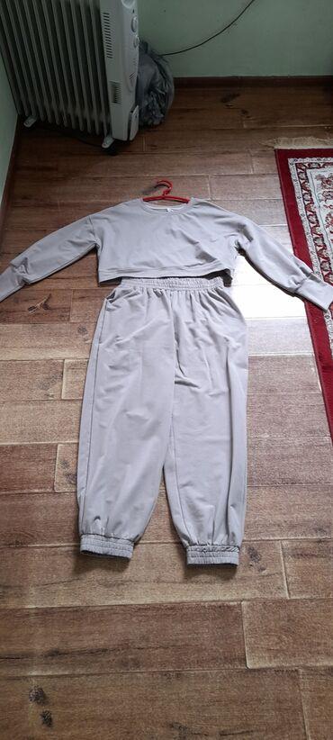 Спортивные костюмы - Кыргызстан: Двойка оверсай,совершенно новый!