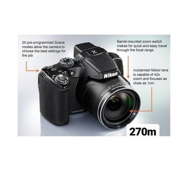 Fotoaparatlar - Bakı: Fotoaparat Nikon Coolpix P510 42 x optik zoom. 16 mpx. Full hd video