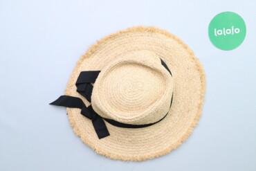 Жіночий капелюх з бантиком     Діаметр: 33 см  Стан дуже гарний