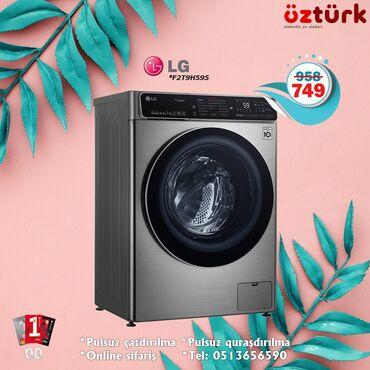 bmw 7 серия 740le xdrive - Azərbaycan: Öndən Avtomat Washing Machine LG 7 kq