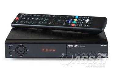 Спутниковый ресивер DVB S/S2 HD, карточка AITV + тарелка Крутой