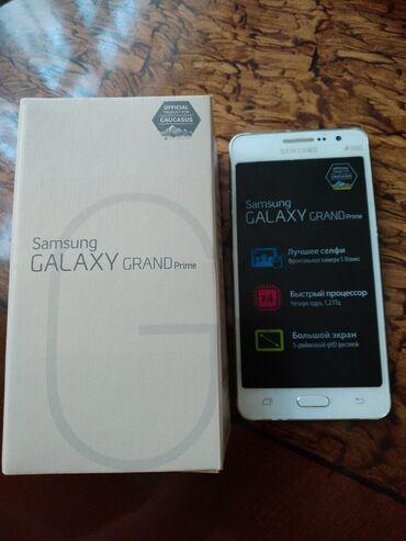 Galaxy grand - Azərbaycan: Samsung Galaxy Grand Prime ağ rəngdə.Adaptorla bərabər.Metro