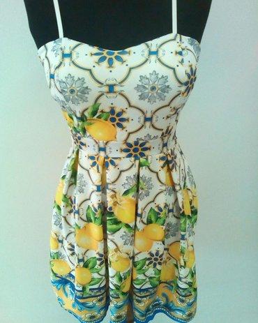 Sarena haljina, univerzalna velicina