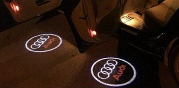 Elektronika za auta - Backa Palanka: NOVI LED PROJEKTOR LOGO sa oznakom AUDI, u setu su dva komada