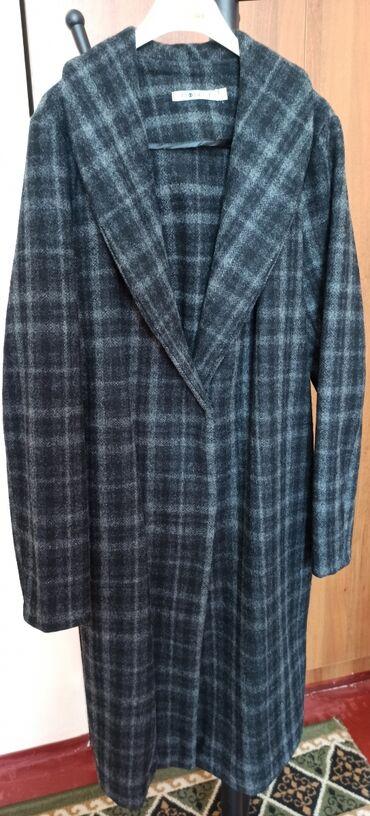 зимние пальто бишкек в Кыргызстан: Пальто, шерсть 40%. Теплое, можно носить в теплую зиму, а так