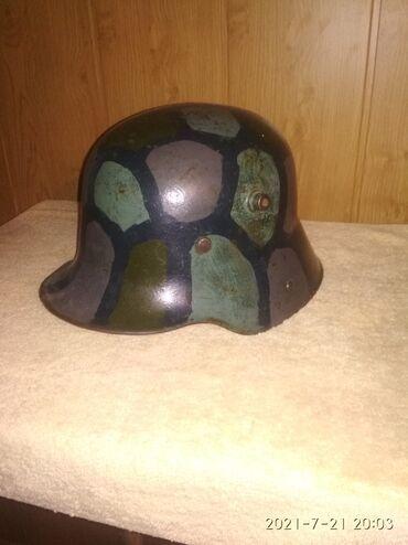 Спорт и хобби - Кызыл-Суу: Немецкий шлем 1915