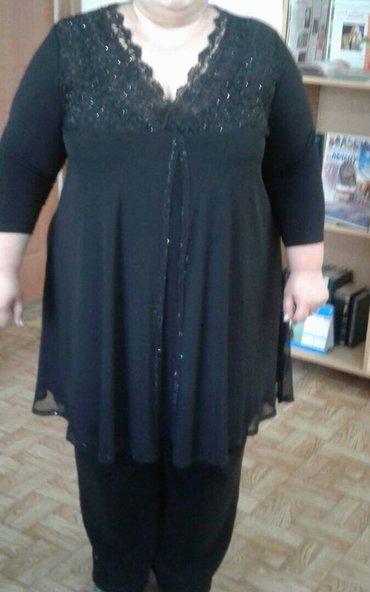 вечернее длинное платье черного цвета в Кыргызстан: Туника нарядная, черного цвета, длина туники 90 см, ткань -