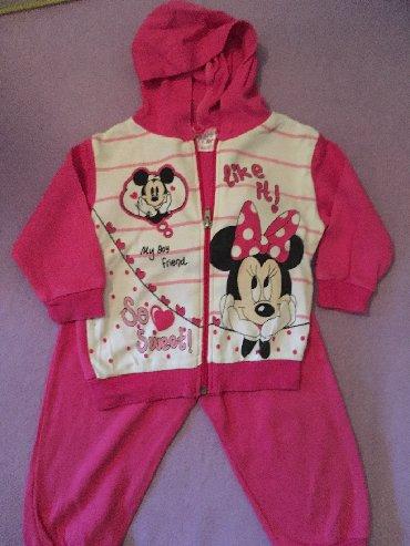 Ostala dečija odeća   Futog: Ocuvana Mickey&Minnie Mouse trenerka vel. 80  Prodajem ocuvanu tre