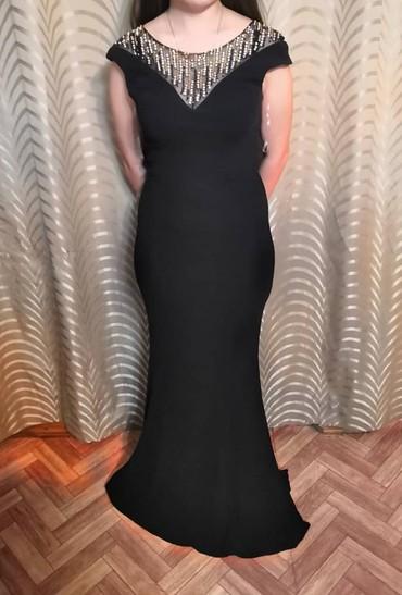 черное платье на свадьбу в Кыргызстан: Продаю платье одевала всего один разОчень подойдет на выпускной вечер