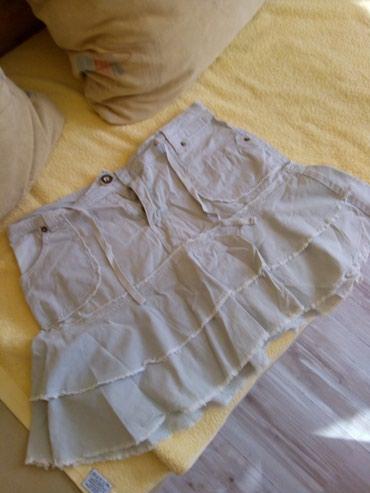 Suknjica od kepera.preslatka.vel s.m.ima elastina - Kraljevo - slika 2