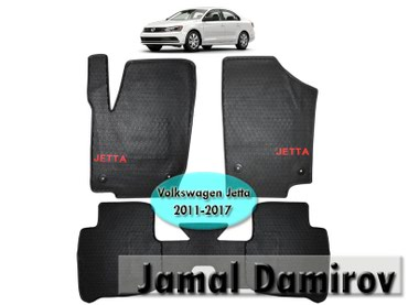 Volkswagen Jetta 2011-2017 ucun silikon ayaqaltilar в Bakı