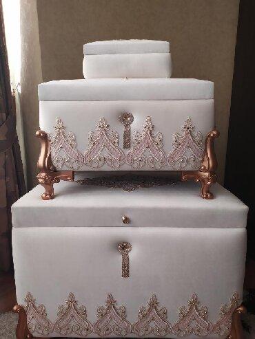 Комплект сундуков на приданное невесты. Абсолютно новый, турецкий