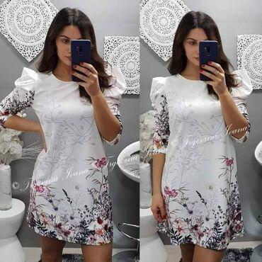Hit haljina u prelepom dezenu - cena 1800 din  * dostupna u beloj i