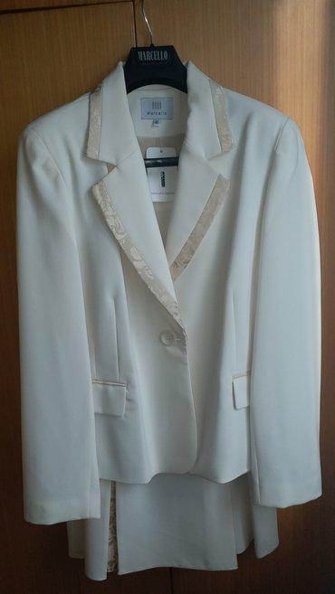Zenski komplet nov sako-suknja 46 velicina, ramena 46, grudi 120, - Kraljevo
