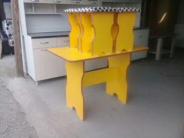 кухонный стол стулья в Кыргызстан: Продаём готовые комплекты столов и стульев.  Размеры: длина 1,10м, шир
