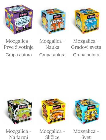 BrainBox Novo Edutativne mozgalice za decu - Belgrade