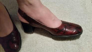 Ženska obuća | Pirot: Sandale sa zmijskim printom veličina 37 broj.Nosene neko vreme fali